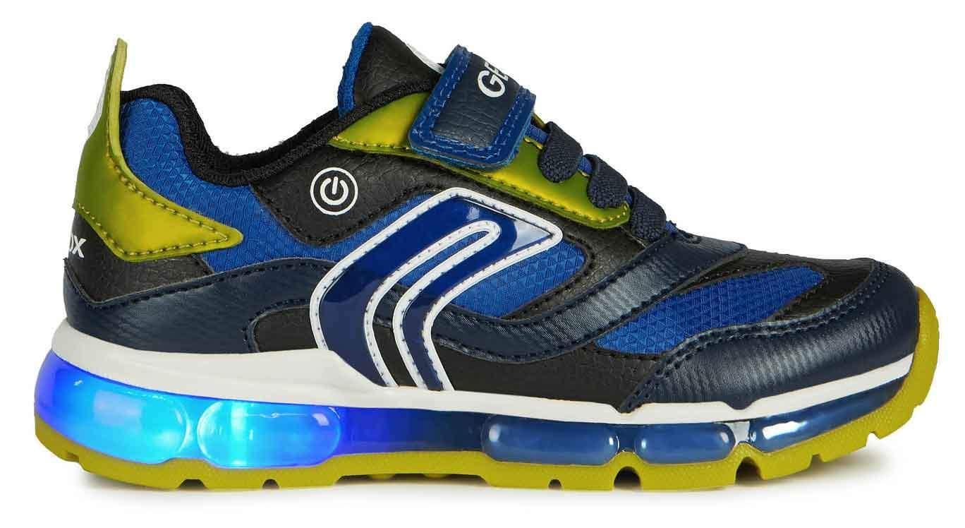 Geox Boys J Android B Navy Lime
