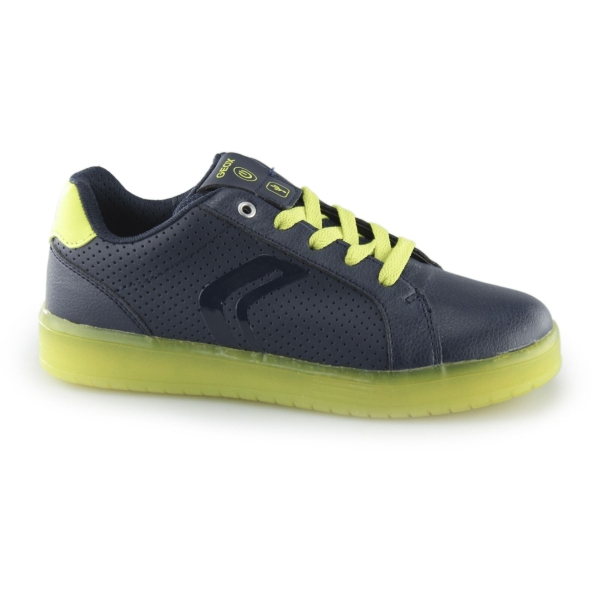Cinemática Vegetación escalada  Geox Boys J Kommodor B B Navy / Lime Trainer J745PB - £42.40 - A great  selection of from Stampede Shoes