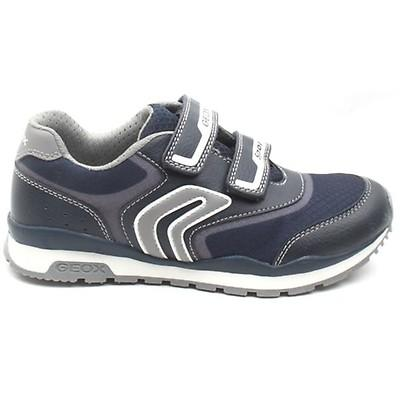 Informar Inevitable Fortalecer  Geox Boys J Pavel Navy Silver Trainers J0415A - £45.00 - A great selection  of from Stampede Shoes