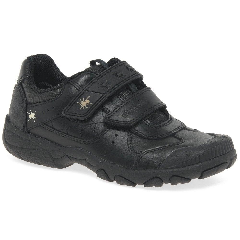 Start-rite Boys Tarantula Black Leather